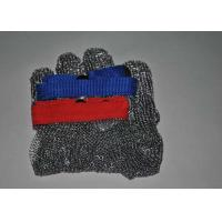 China Food Grade Stainless Steel Metal Mesh Butcher Gloves Cut Resistant Size Multiple wholesale