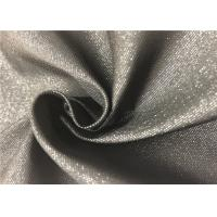 China Black Fiber PVC Backed Polyester Fabric Durable Resistant To Bleach / Oxidants wholesale
