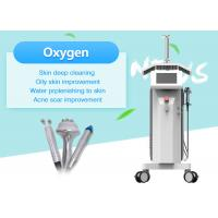China Multifunction LED PDT Water Oxygen Beauty Machine For Facial Cleaning / Skin Whitening wholesale