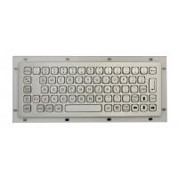 China IP68 Stainless Steel Mini Industrial Metal Keyboard No FN Keys , With USB / PS2 Connectors wholesale