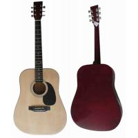 China 41 inch Junior Basswood Wood Acoustic Guitar Classic Western Guitar AF4110A wholesale