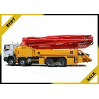 China Mounted Dry Cement Boom Pump Manufacturer 37m Mini 247kw 29000kg wholesale