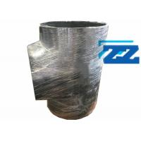 China 40 X 32 Inch Flanged Reducing Tee , Sch 20 ASTM A234 WPB Pipe Reduction Fittings on sale