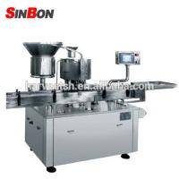 China Liquid filling and capping machine capping machine for aluminum screw caps wholesale