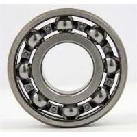 Buy cheap High Speed Spherical Roller Bearings 6010 Open Type Steel Cage , Low Friction Coefficient product