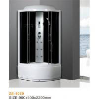 China Diamond White Steam Shower Bath Enclosure Easily Maintained Size 900*900*2200mm wholesale