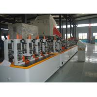 China Straight Seam Precision Tube Mill , ERW Pipe Machine BV CE Approved wholesale