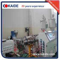 China Glassfiber PPR pipe extrusion line 28-30m/min KAIDE extruder wholesale