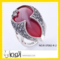 Quality Thai Silver Marcasite Ring for sale
