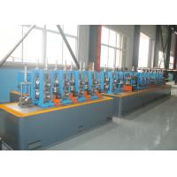 China Round Pipe Making Machine / Welded ERW Pipe Mill Equipment wholesale