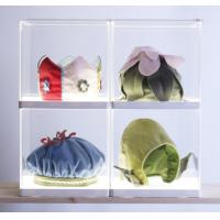 China Simple acrylic display holders , clear display holders with white base wholesale
