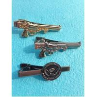 China Stainless Steel Metal Tie Clip Tie Clip Bar Badge With Polish Steel Color wholesale