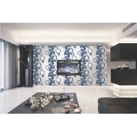 China 70cm width Top quality waterproof mould proof modern styles PVC vinyl wallpaper wholesale