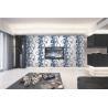 Buy cheap 70cm width Top quality waterproof mould proof modern styles PVC vinyl wallpaper from wholesalers