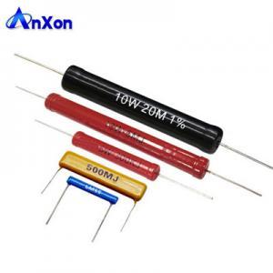 China 10W 2G ohm High Power Medical Device Tubular Impulse Generators Resistor wholesale