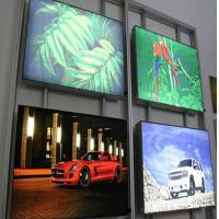 China High Brightness CYMK Backlit Fabric Lightbox For Movie Poster Display wholesale