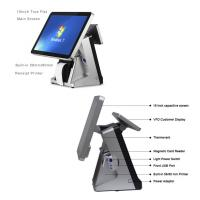 Buy cheap Retail All In One POS Terminal 15 Inch Built In 80mm Thermal Printer POS System Capacitive Touch Screen Panel from wholesalers