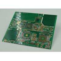China 10 Layer BGA High Density Interconnect PCB Immersion Gold Plated on sale