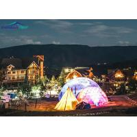 China 100% Rainproof Outdoor Event Geodesic Dome Tent For Special High End Event wholesale