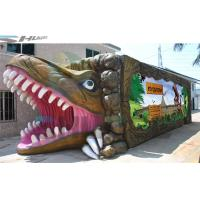 China 7.1 Audio system Mobile and  product promotion 5D cinema cabin with dinosaur box wholesale
