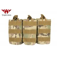 Buy cheap Tactical Military Molle Compatible Open Top Triple Mag Pouch For M4 M17 AK47 from wholesalers