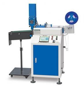 China Ultrasonic Digital Label Cutter/ Fabric Wash Care Label Cutting Machine/Garment Accessories Label Cutter JC-3080B on sale