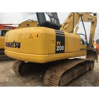 China Used Crawler Hydraulic Excavator Komatsu PC200-7 3200 Hours Under Good Condition wholesale