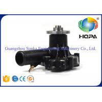 China R60-7 Engine 4TNV94L Hyundai Water Pump With Casting Iron Materials , Standard Size on sale