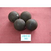 Quality D90mm Grinding Steel Balls High Core Hardness 59-60hrc with Round Steel Bar Material for sale