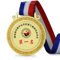 China 3d Engraved Logo 1.5mm 1.8mm Custom Made Medals wholesale
