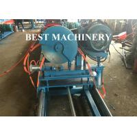 China Gear Box Unistrict Channel Roll Forming Machine Solar Rack 22kw Power C Shape wholesale