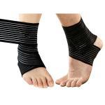 China Sprain Injury Pain Brace Ankle Support Wrap Gym Sports Basketball Bandage Strap .Elastic material.Customized size. wholesale