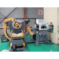 China Hydraulic Double Head Material Frame Steel Plate Straightening Machine High Unwinding Speed wholesale