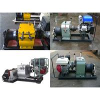 China Asia Cable pulling winch, CABLE LAYING MACHINES,Cable bollard winch wholesale
