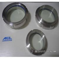 China Sanitary Dn40 Stainless Steel SS304 Union Type Sight Glass wholesale