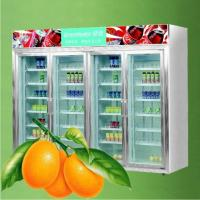 Quality Stainless Steel Upright Commercial Display Freezer Tecumseh Compressor -25°C 3 for sale