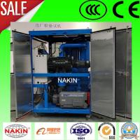 Buy cheap Double Stages Vacuum Transformer Oil Purifier,Oil Recycling Machine product