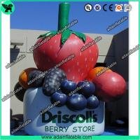 China Inflatable Strawberry,Inflatable Grape, Advertising Inflatable Fruits Replica wholesale