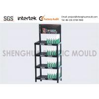 China Portable Plastic Display Shelves , Merchandise Display Racks For Retail Stores Specialty Shops on sale