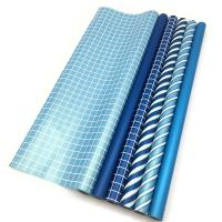 China Double Side Gift Wrapping Paper Roll Size 70 X 500 Cm Various Color Available wholesale