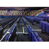 China Comfortable Telescopic Seating Systems Upholstered Chair For Performing Arts Venues wholesale
