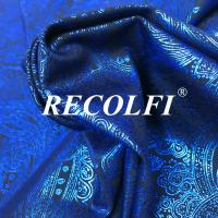 China Floral Design Patterns Sportswear Material Fabric , Recolfi Eco Friendly Materials wholesale