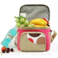 China Brown School Kids Lunch Bags / Thermal Personalized Toddler Lunch Bag wholesale