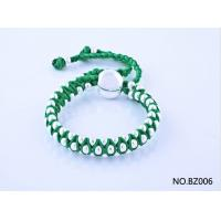 China fashion hot selling jewelry handmade bracelet in green color BZ006 wholesale