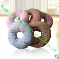 China Memory Foam Office / Dining Chair Cushions , Adults Cotton Round Chair Pads wholesale