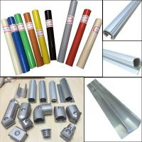 China Lean pipe assemble pipe rack PE coated pipe and auminum pipe and joint System wholesale