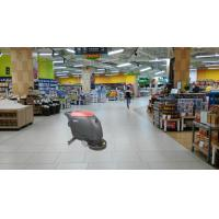 China Supermarket Floor Scrubber Dryer Machine With Held And Big Water Tank wholesale
