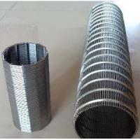 China SS Wedge Wire Mesh Screen For Mining And Oilfield Screening Filtration wholesale