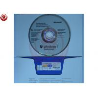 China Full Version Windows 7 Pro Coa Sticker OEM Server Software 32 Bit / 64 Bit wholesale