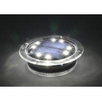 China Swimming Pool Solar Decorative Lights 500 Lux With 1.2V 300MAH Ni-MH Battery wholesale